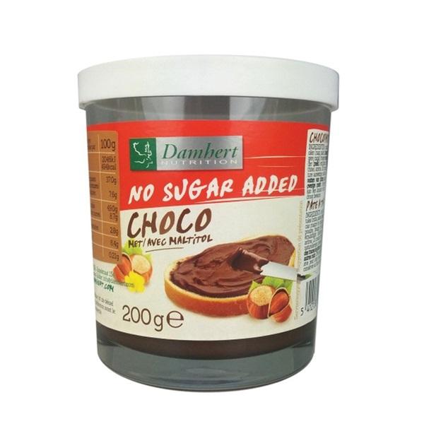 Damhert Chocopasta Glutenvrij voorkant