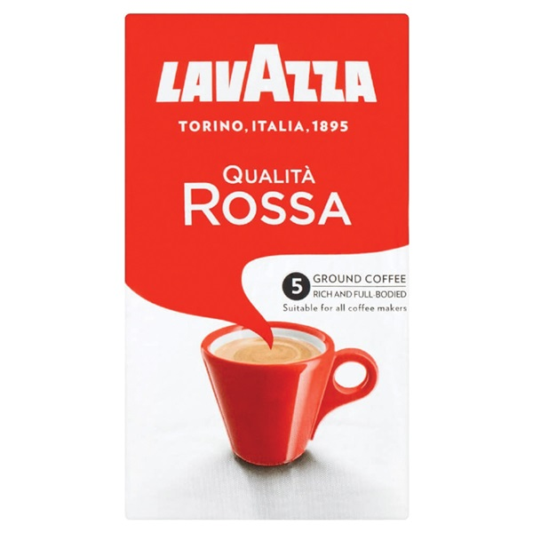 Lavazza Sneltfilterkoffie Rosso voorkant