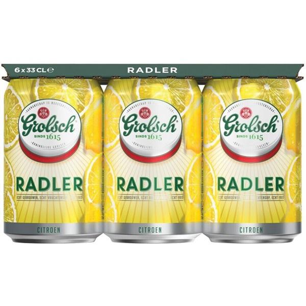 Grolsch Radler Blik 6X33Cl voorkant