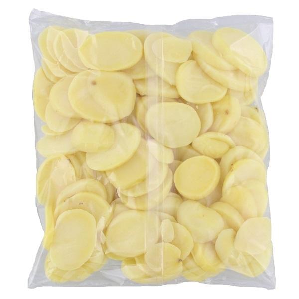 aardappel schijfjes achterkant