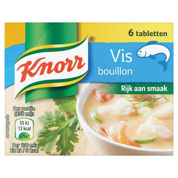 Knorr Bouillon Vis voorkant