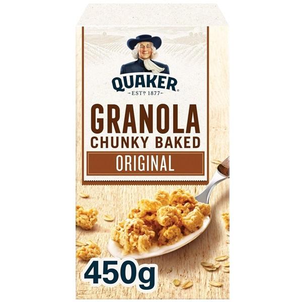 Quaker Oats Granola original voorkant