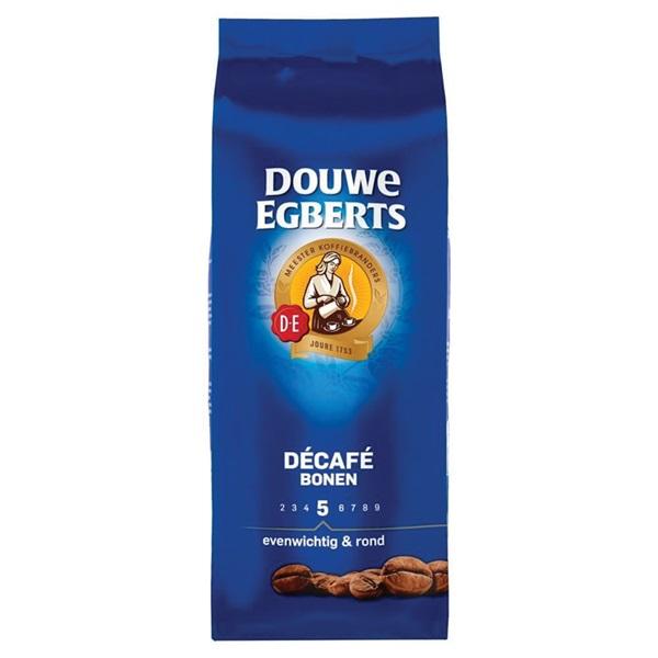 Douwe Egberts Koffiebonen Aroma Rood Decafe Bonen voorkant