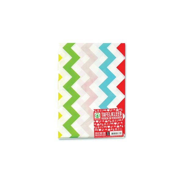 Spar Vieren En Versieren Tafelkleed Zigzag voorkant