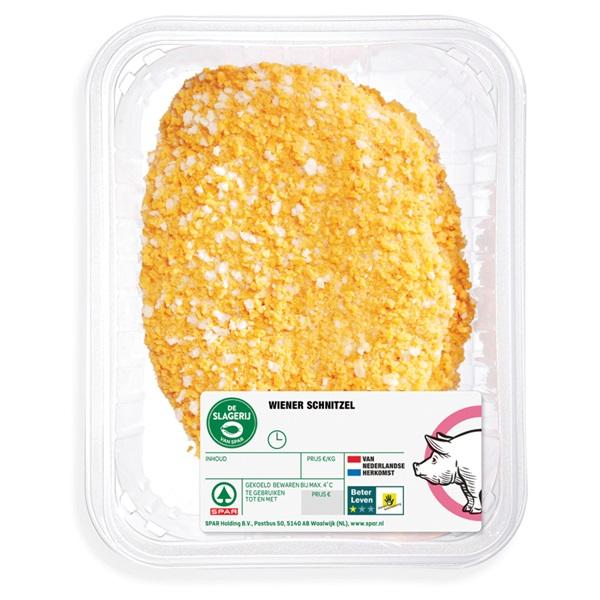 Spar Gehakt schnitzel krokant pak 2 stuks voorkant
