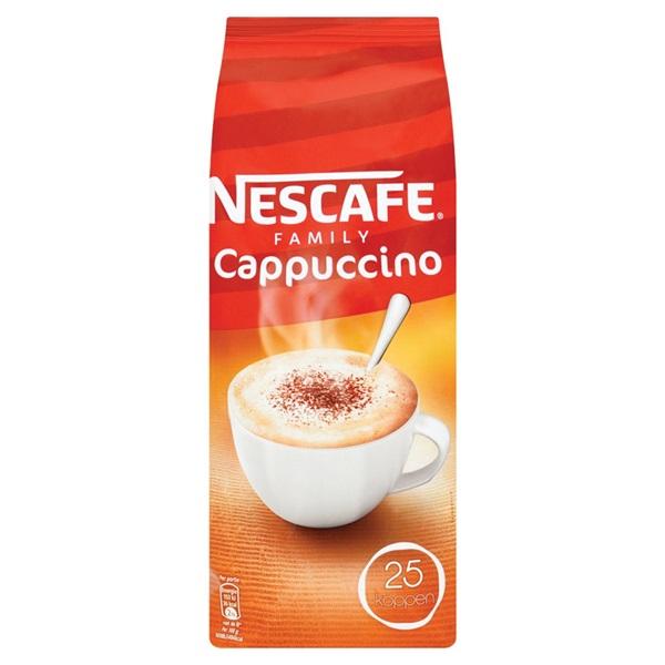 Nescafé Koffie Cappuccino Navul voorkant