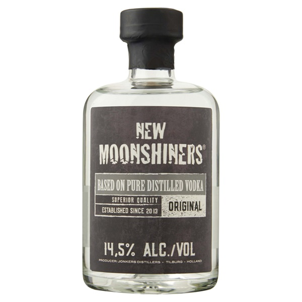 New Moonshiners vodka voorkant
