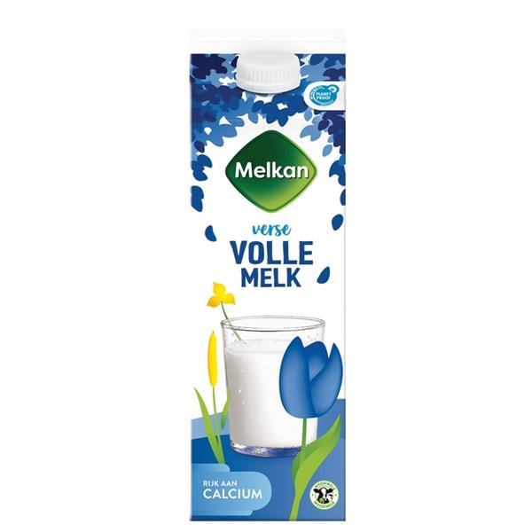 Melkan melk voorkant