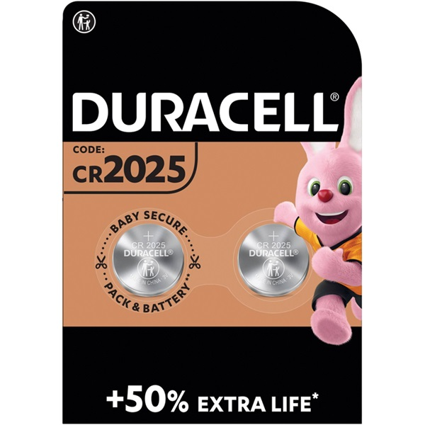 Duracell knoopcel batterij 2025 voorkant