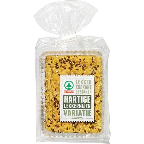 Spar ambachtelijke crackers spelt voorkant