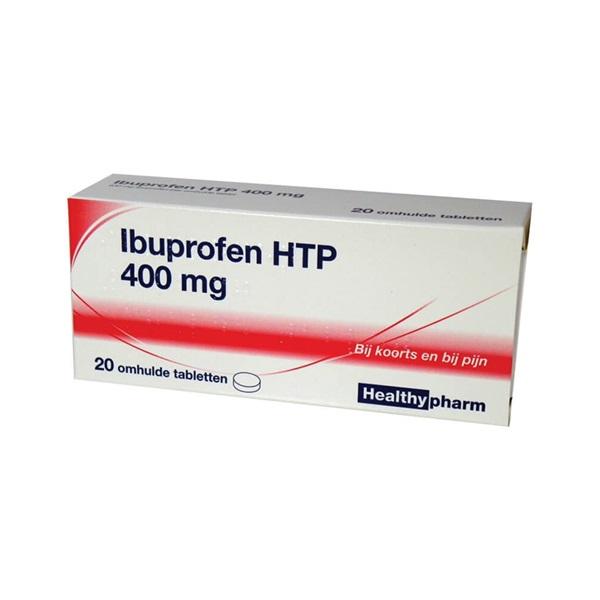 Healthy Ibuprofen 400 mg voorkant
