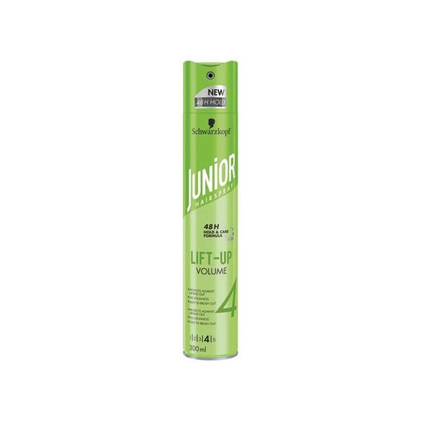 Junior haarspray ultra lift-up volume voorkant