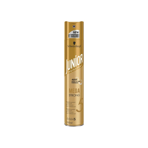 Junior haarspray mega strong voorkant