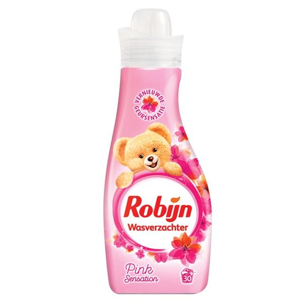 Robijn wasverzachter pink sensation voorkant