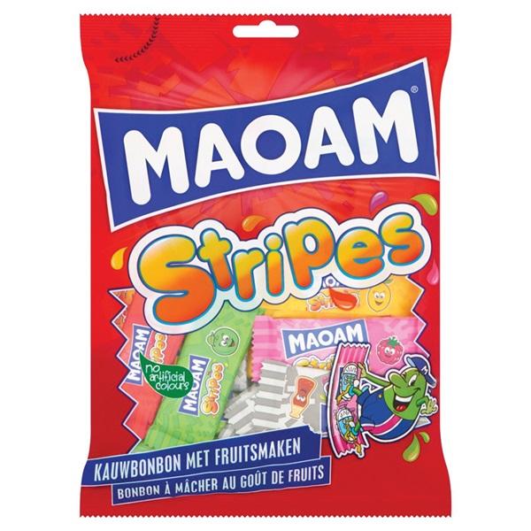 Maoam stripes kauwbonbon voorkant