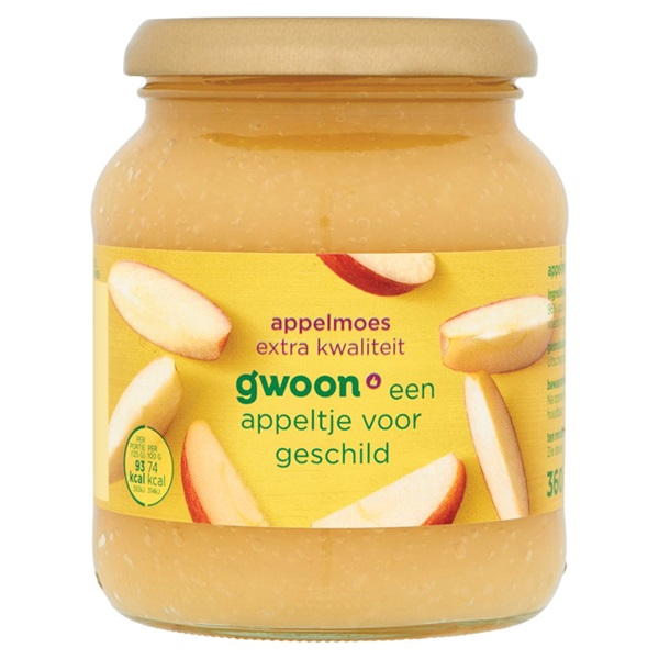 Gwoon appelmoes extra voorkant