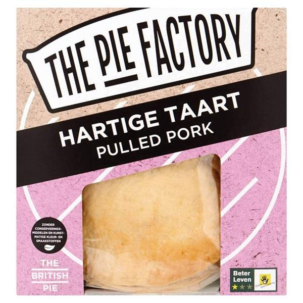 The pie factory pulled pork pie voorkant