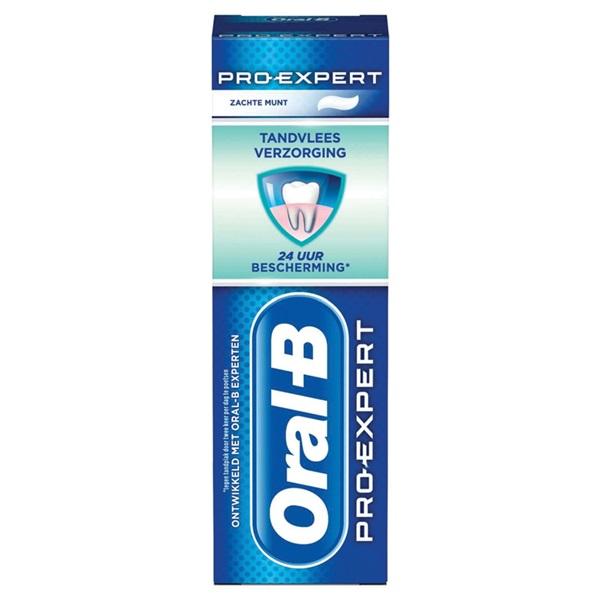 Oral B tandpasta pro-expert sterke tanden voorkant