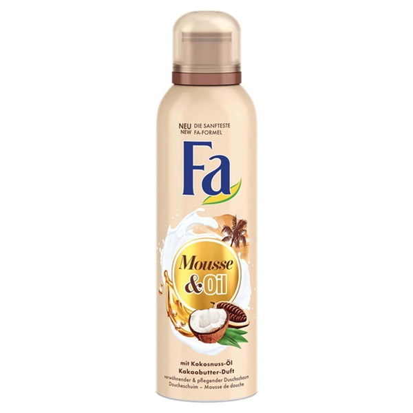 Fa cream & oil douche foam cacao voorkant