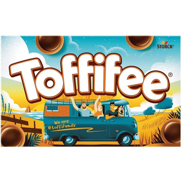 Toffifee Hazelnoot caramel voorkant
