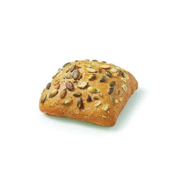 pompoen broodje voorkant