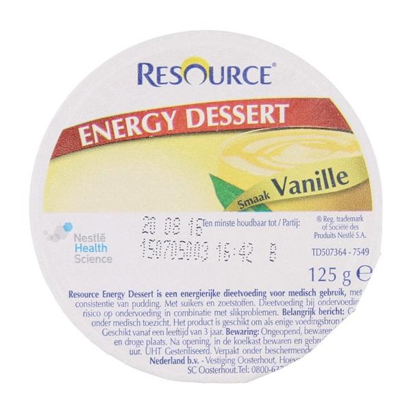 Dessert Vanille voorkant
