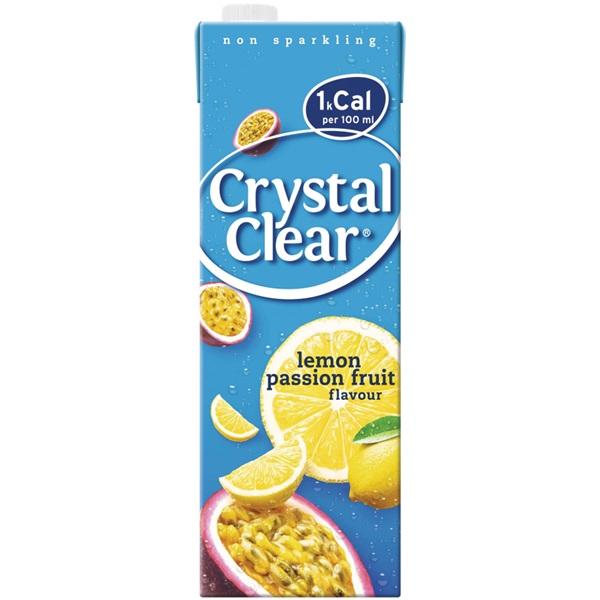 Crystal Clear citroen passievrucht voorkant