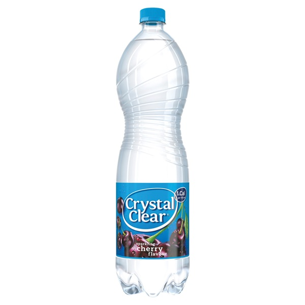 Crystal Clear sparkling cherry voorkant