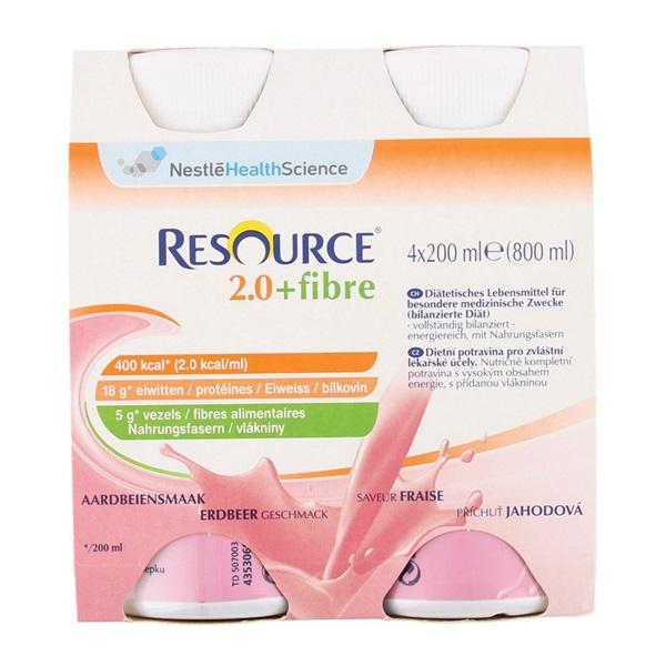 Nestlé Resource 2,0 Aardbei voorkant