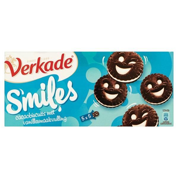 Verkade Koek Smileys voorkant