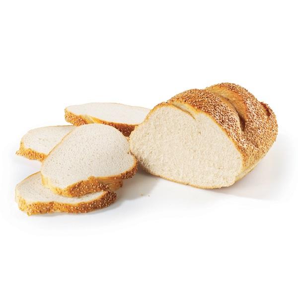 Ambachtelijke Bakker Wit Vloerbrood Sesam Heel voorkant