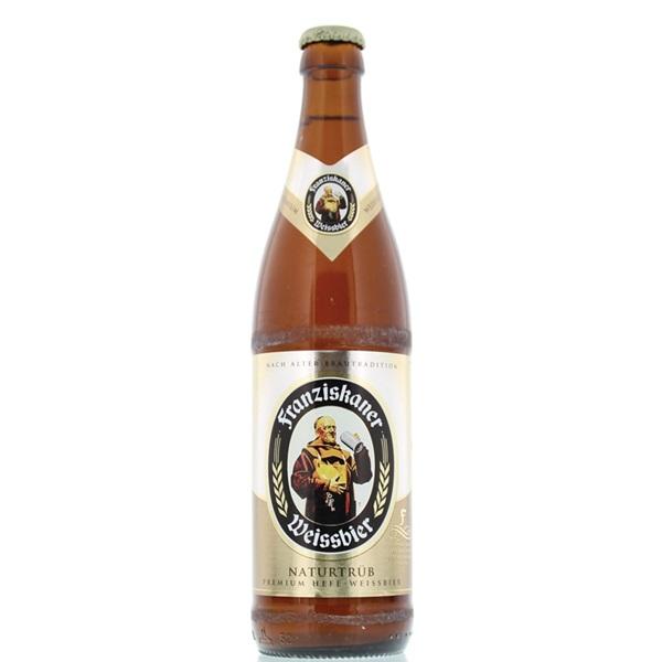 Franziskaner Speciaalbier Weissbier Fles 50 Cl voorkant