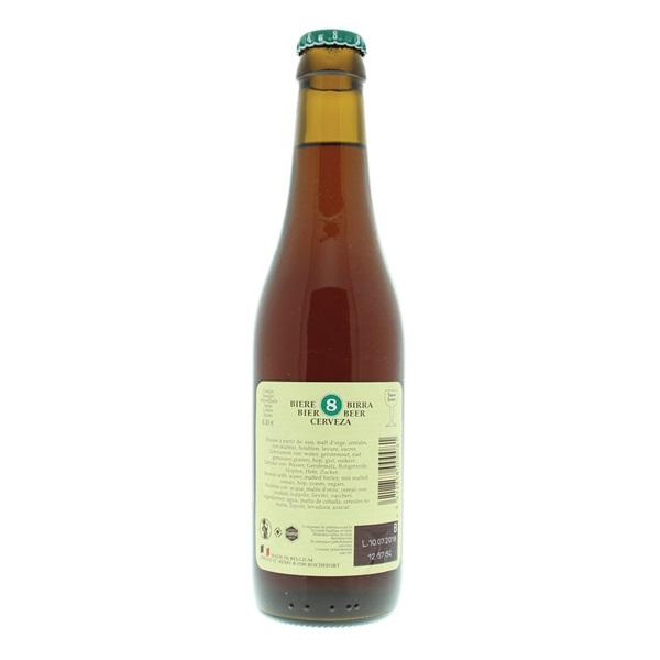 Rochefort Bier Trappist achterkant