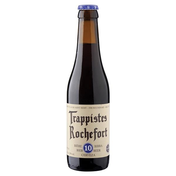 Rochefort Bier Trappist 10 Fles 33 Cl voorkant