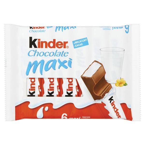 Kinder Chocolade Maxi T6 voorkant
