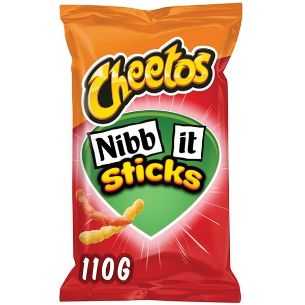 Cheetos Nibb-It Chips Sticks naturel voorkant