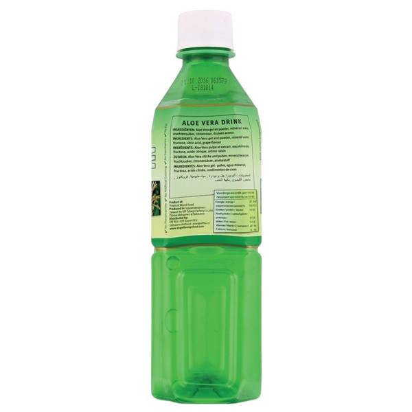 Tropical Aloe Vera Drink Naturel achterkant