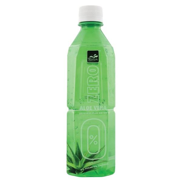 Tropical Aloe Vera Drink Zero voorkant