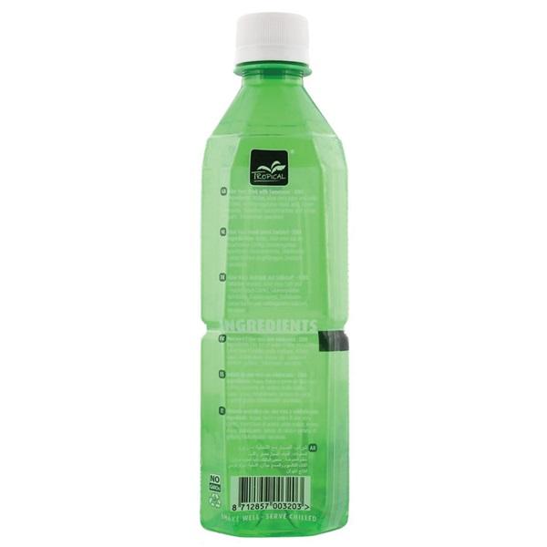 Tropical Aloe Vera Drink Zero achterkant