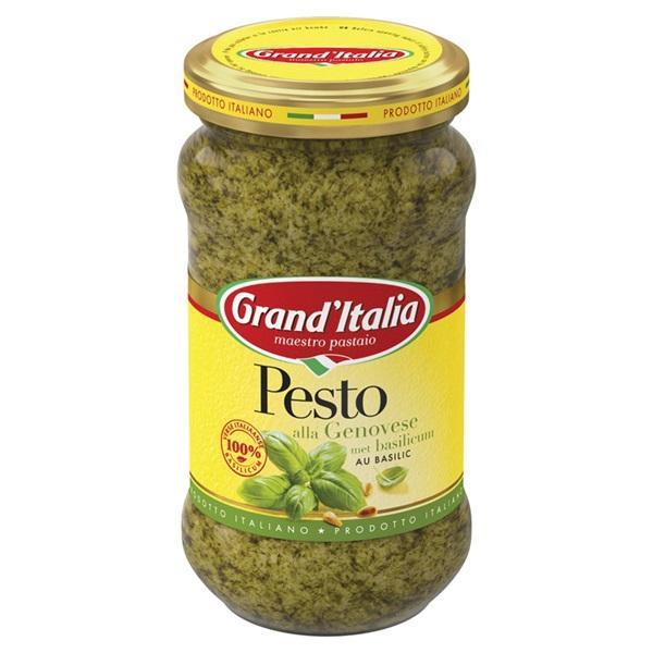 Grand'Italia Pesto Alla Genovese achterkant