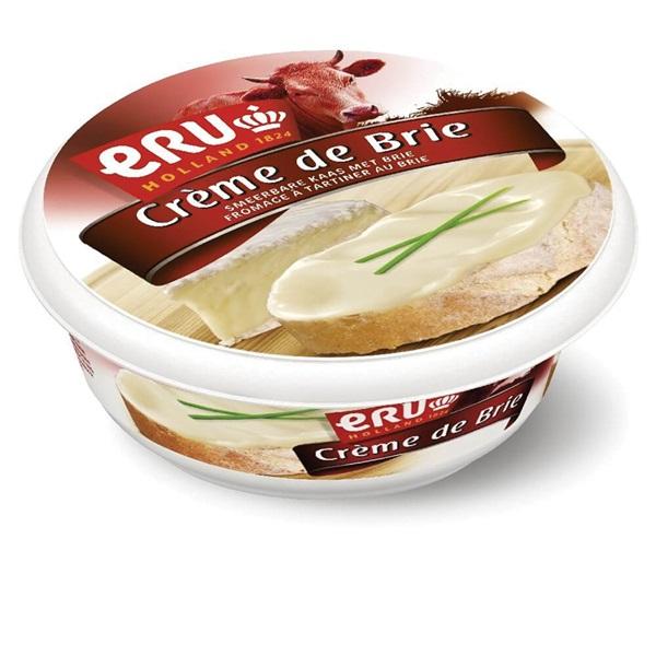 Eru Smeerkaas Creme De Brie voorkant