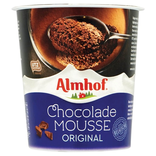 Almhof Chocolademousse voorkant