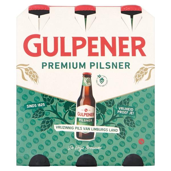Gulpener Pils 6X30CL voorkant