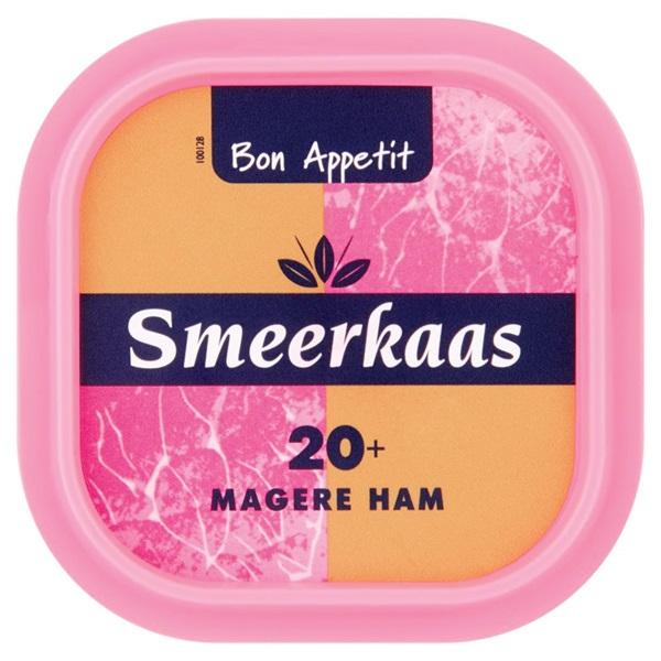 Bon Appetit Smeerkaas Ham 20+ voorkant