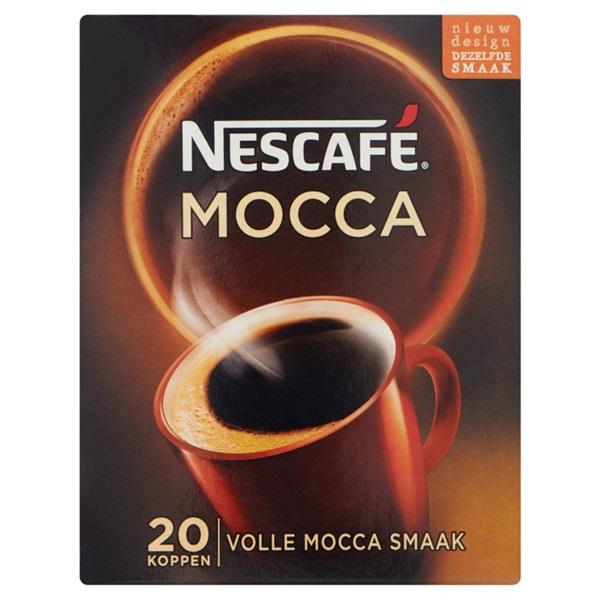 Nescafé Oploskoffie Café Mocca voorkant