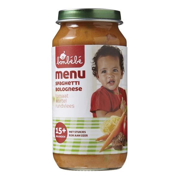 Bonbébé Baby/Peuter Maaltijd Spaghetti Bolognese voorkant
