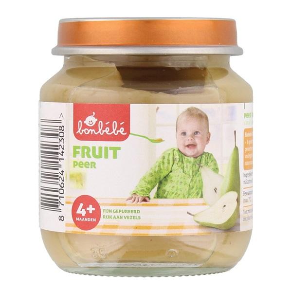 Bonbébé Baby/Peuter Fruithapje Peer voorkant