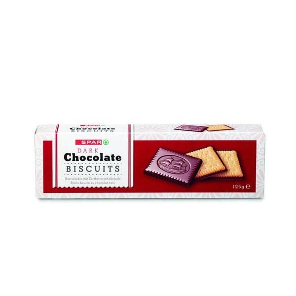 Spar Biscuits Chocolade Puur voorkant