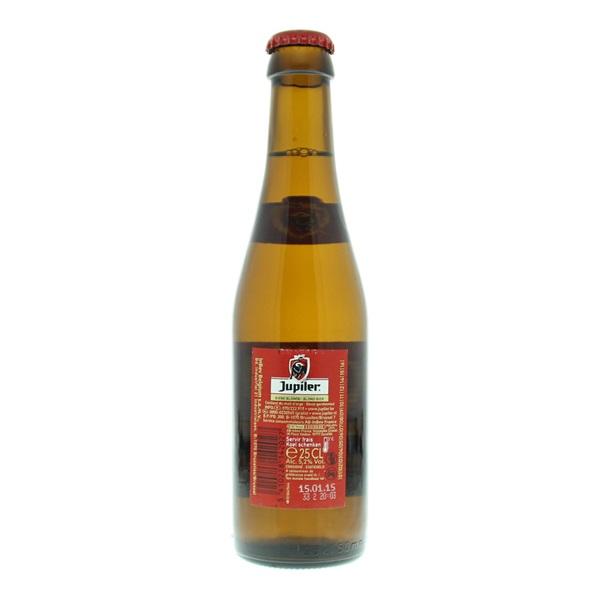 Jupiler Bier achterkant