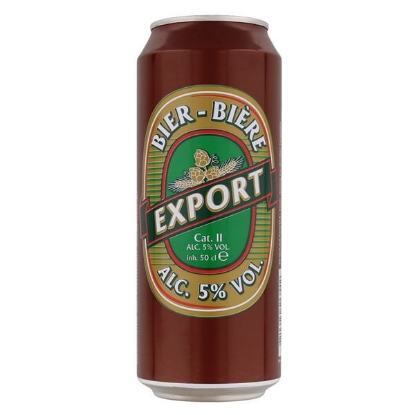Export Bier Blik 50 Cl voorkant